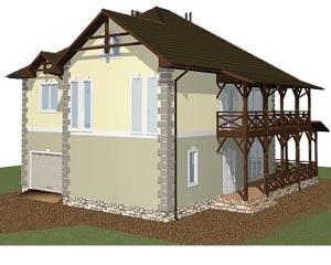 изображение фасады Проект «Река»