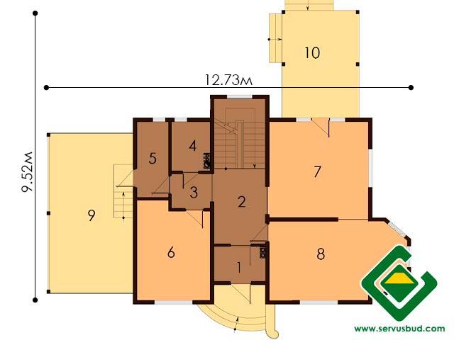 изображение первый_этаж Проект «Шафран»