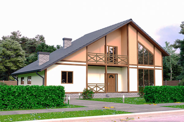Канадский дом проект Актеон