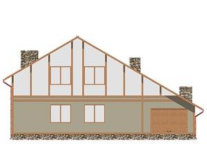 изображение фасады Проект «Актеон 2»