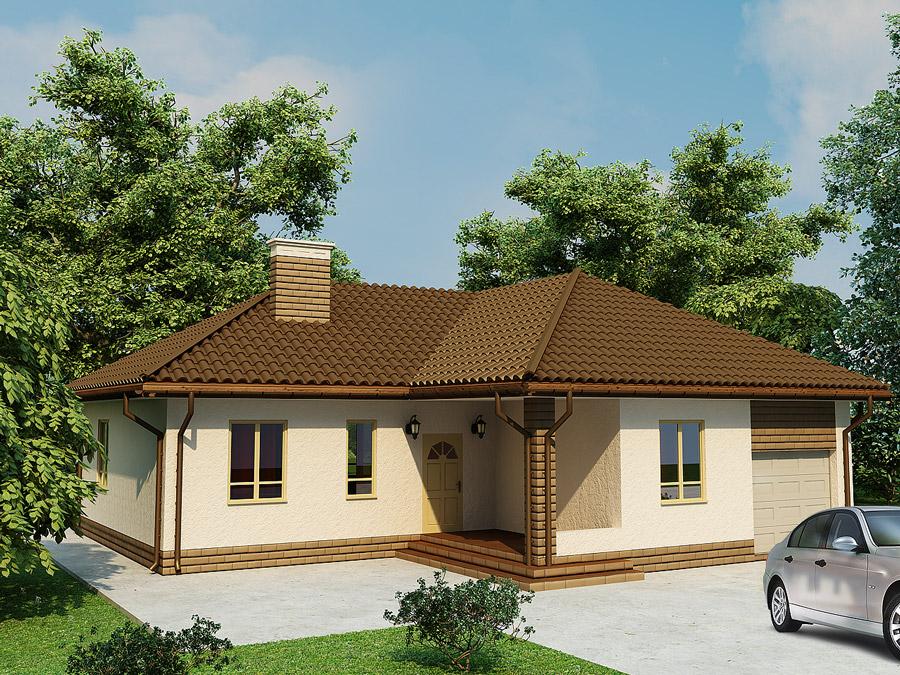 дом по технологии SIP - Лира