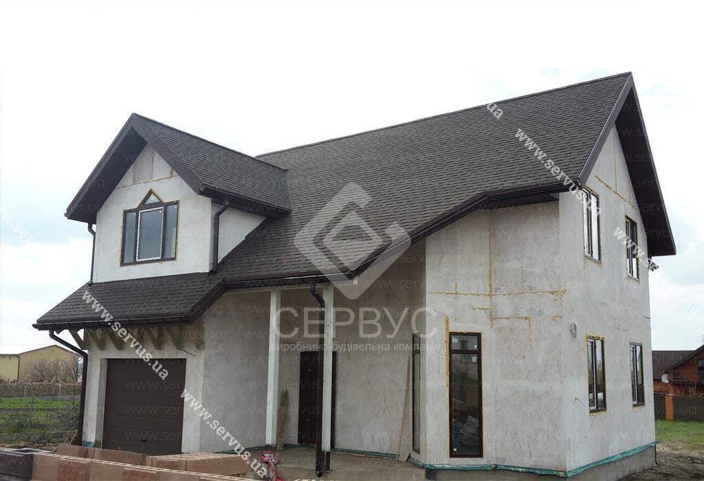 Проект каркасно-панельного дома Маргарита
