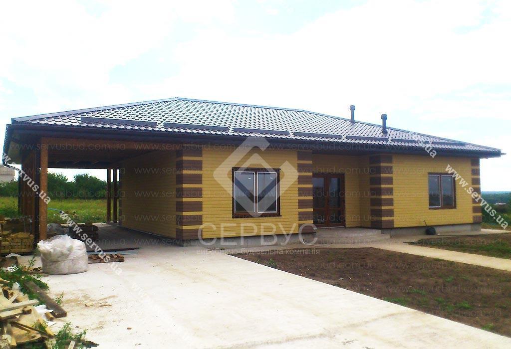 SIP технология строительства дом - Ронда