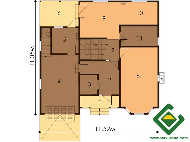 изображение первый_этаж Проект «Рокфор»