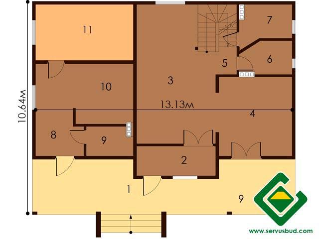изображение первый_этаж Проект «Орланда»