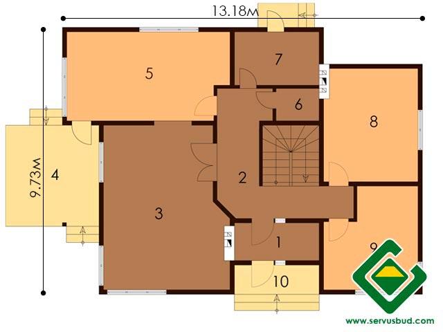 изображение первый_этаж Проект «Вероника»