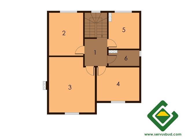 изображение второй_этаж Проект «Орланда»
