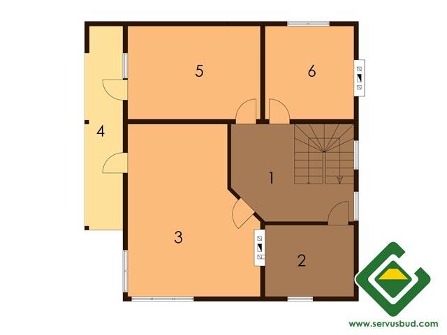 изображение второй_этаж Проект «Вероника»