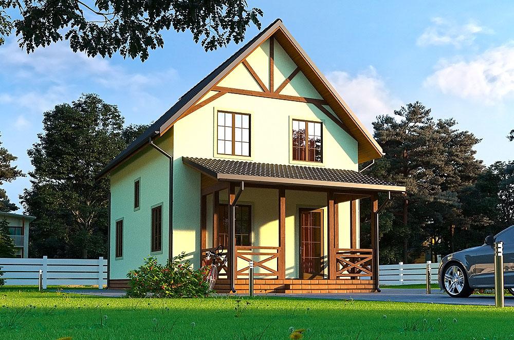 SIP технология строительства дом - Чарли