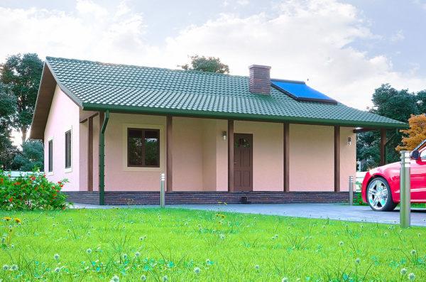 проект одноэтажного дома Клио