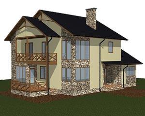 изображение фасады Проект «Вероника»
