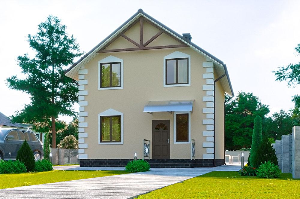 проект канадского дома Флори