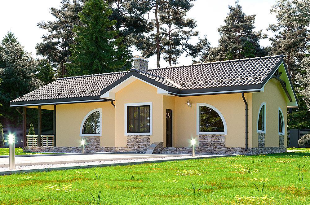 Энергоэффективный дом, проект Гомер