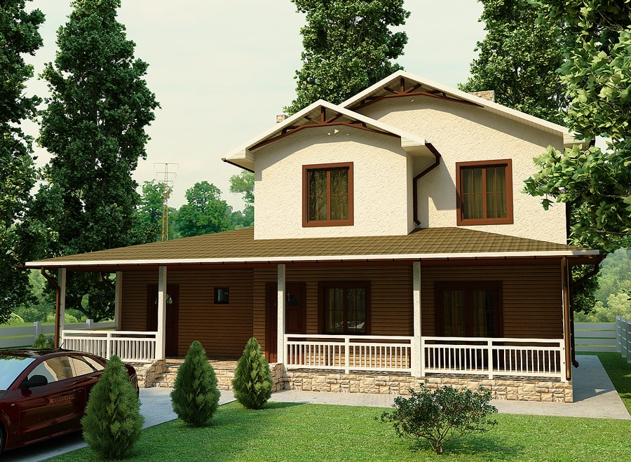 дом по технологии SIP - Орланда