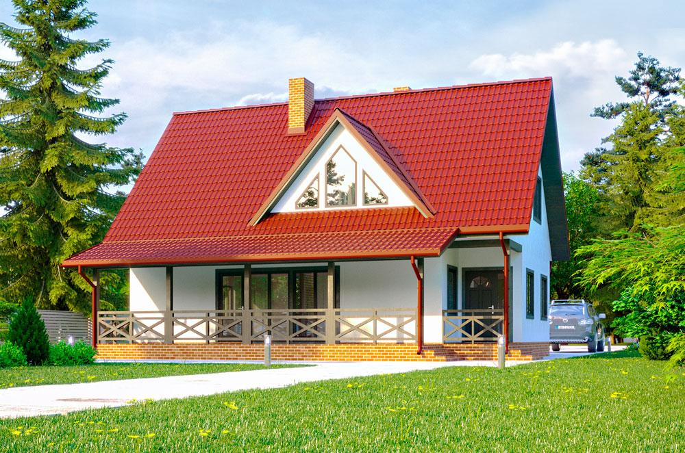 Дом по проекту Розмари