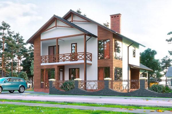 каркасный дом вероника