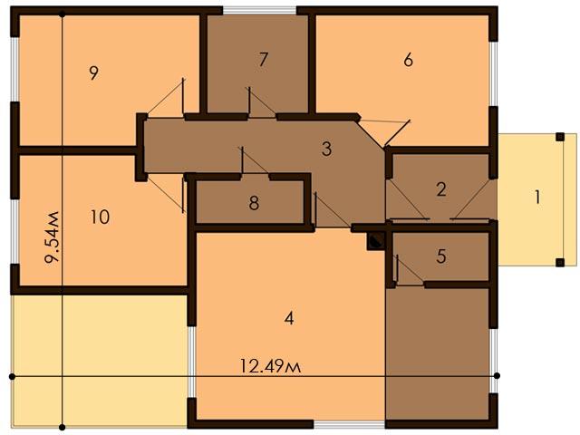 изображение первый_этаж Проект «Кастор»