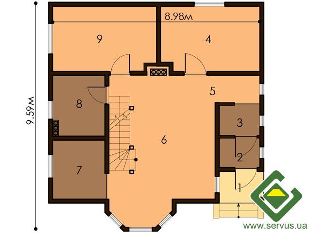 изображение первый_этаж Проект «Камила»