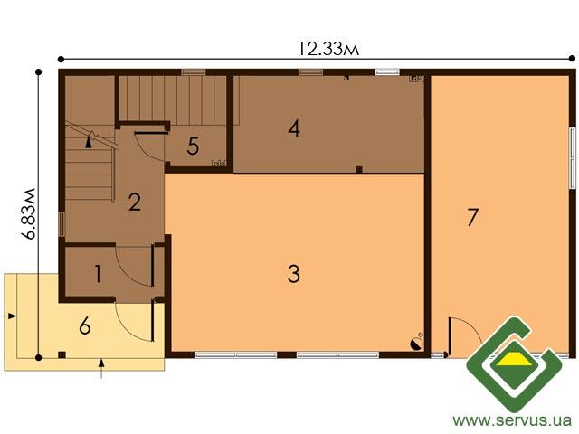 изображение первый_этаж Проект «Маями»