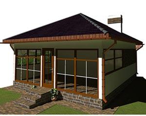 изображение фасады Проект «Сауна 1»