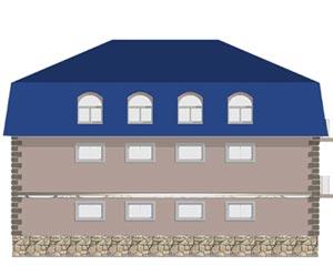 изображение фасады Проект «Черепаха»
