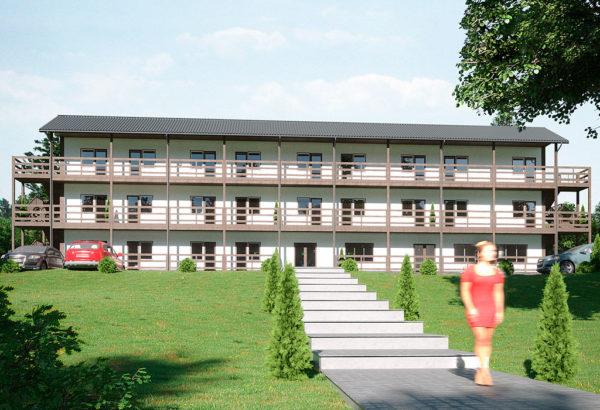 проект гостиницы Феодосии