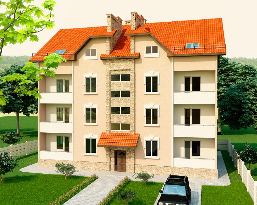Многоэтажный дом по каркасно панельной техгологии SIP