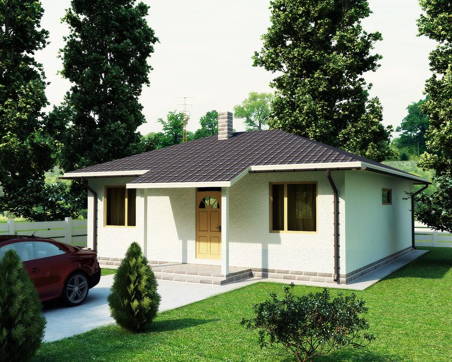 дом по технологии SIP по проекту Кастор