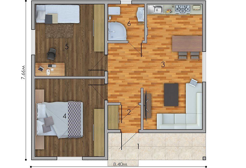 изображение первый_этаж Проект «Луи»