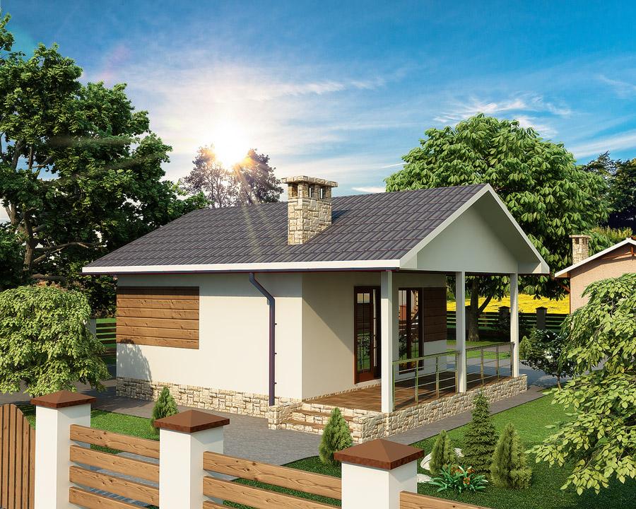 Энергоэффективный дом, проект Зея