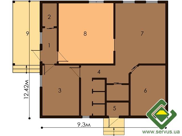 изображение первый_этаж Проект «Сауна 4»