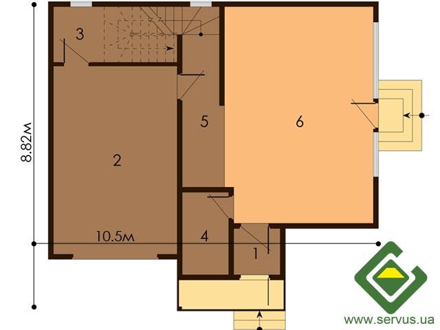 изображение первый_этаж Проект «Диего»