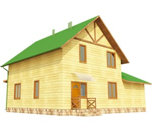 изображение фасады Проект «Лесничий 8»
