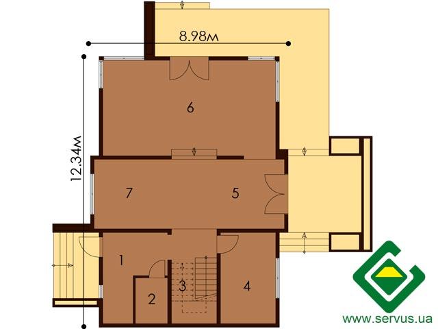изображение первый_этаж Проект «Класик»