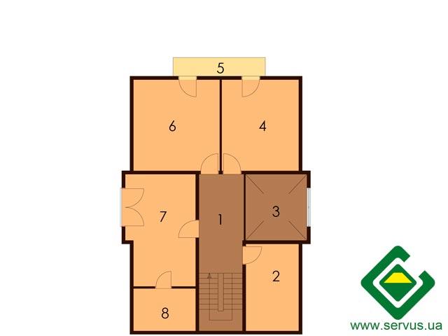 изображение второй_этаж Проект «Класик»