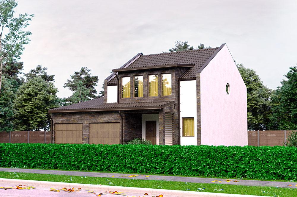 проект канадского дома Небраска