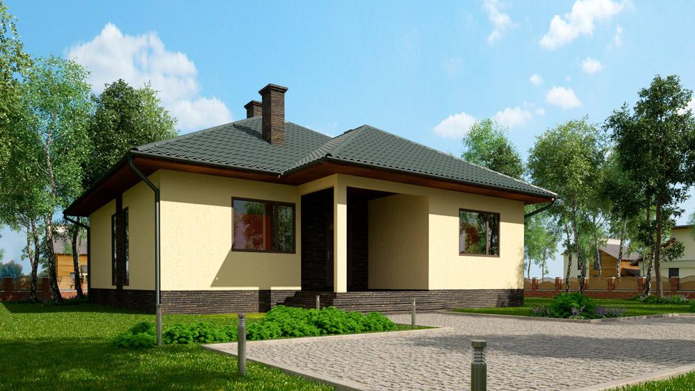 Дом по проекту Тао