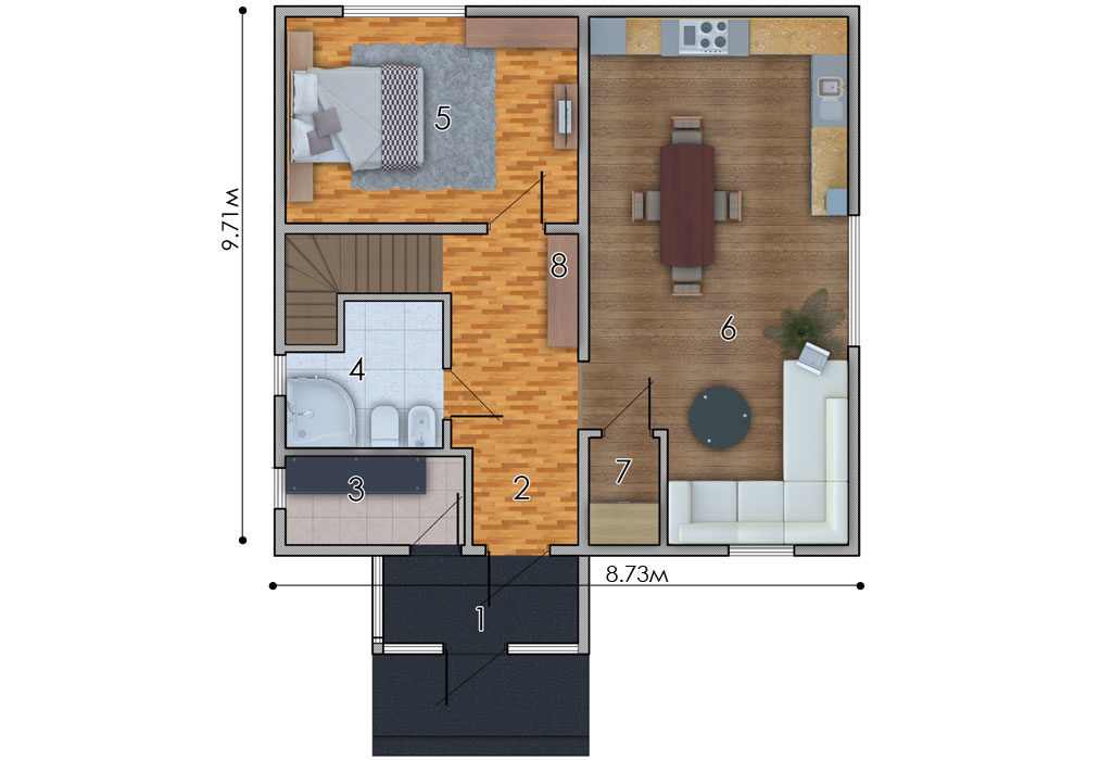 изображение первый_этаж Проект «Соня»