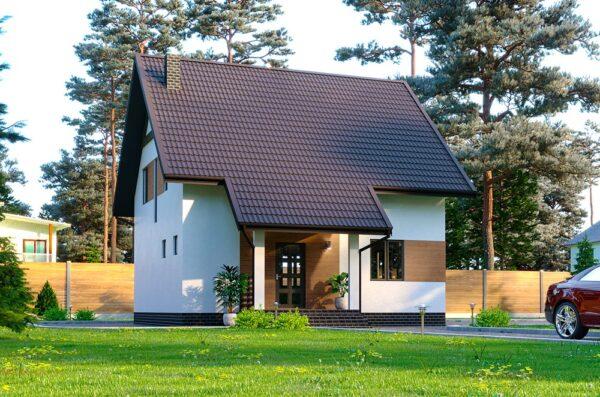проект будинку з мансардою Соня
