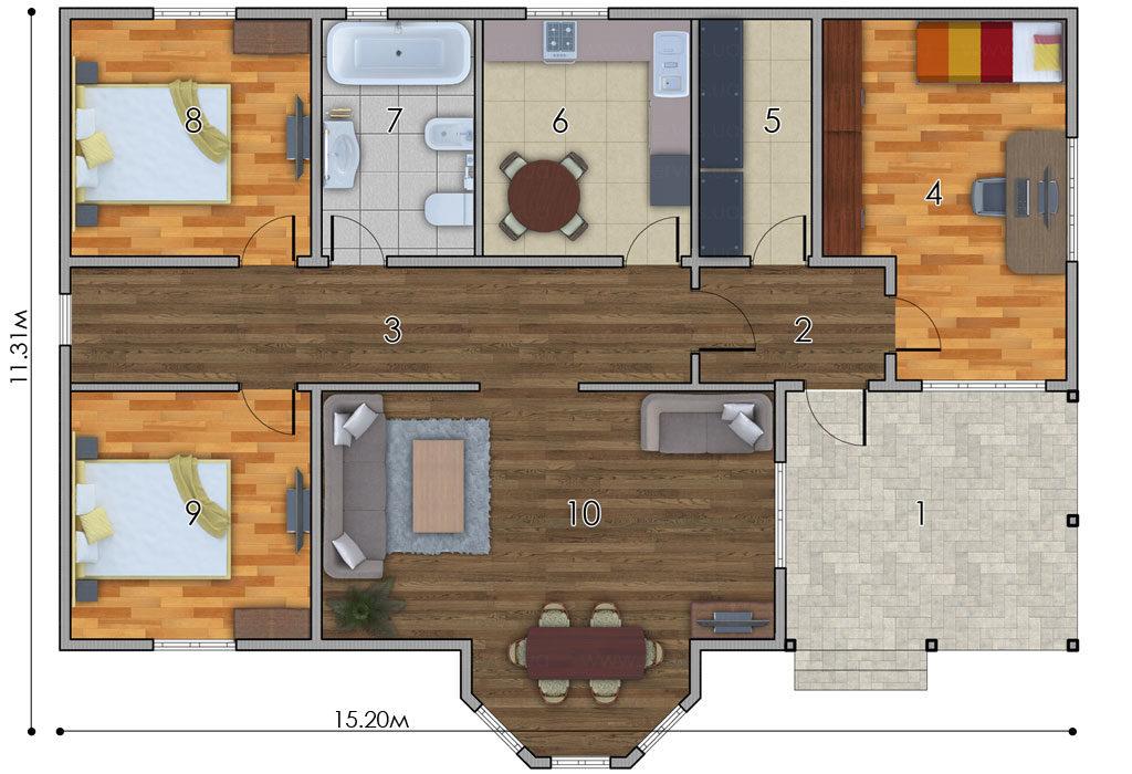 изображение первый_этаж Проект «Тур»