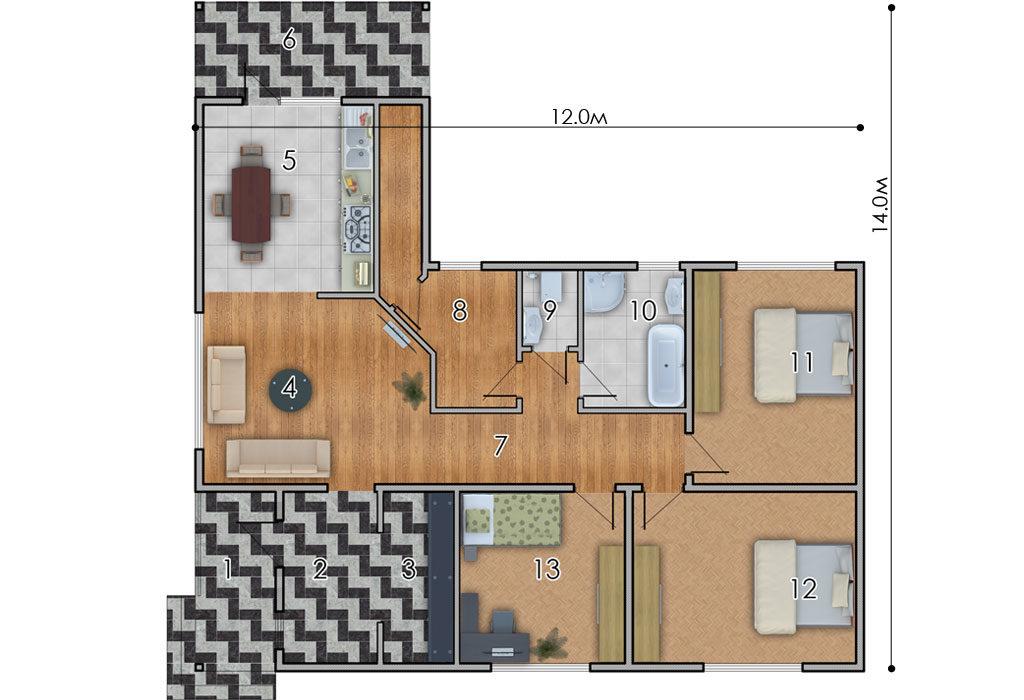 изображение первый_этаж Проект «Милтон»
