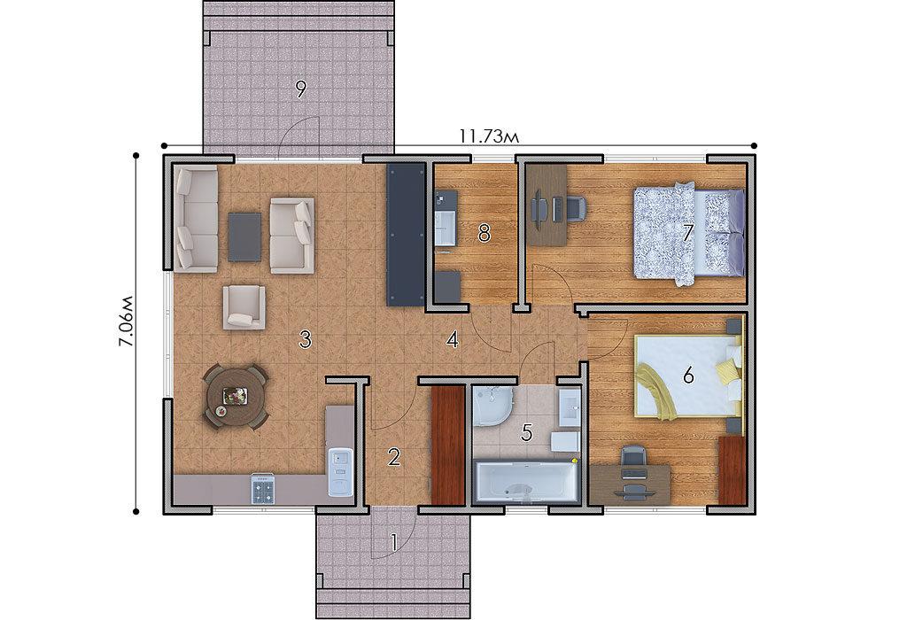 изображение первый_этаж Проект «Кили»