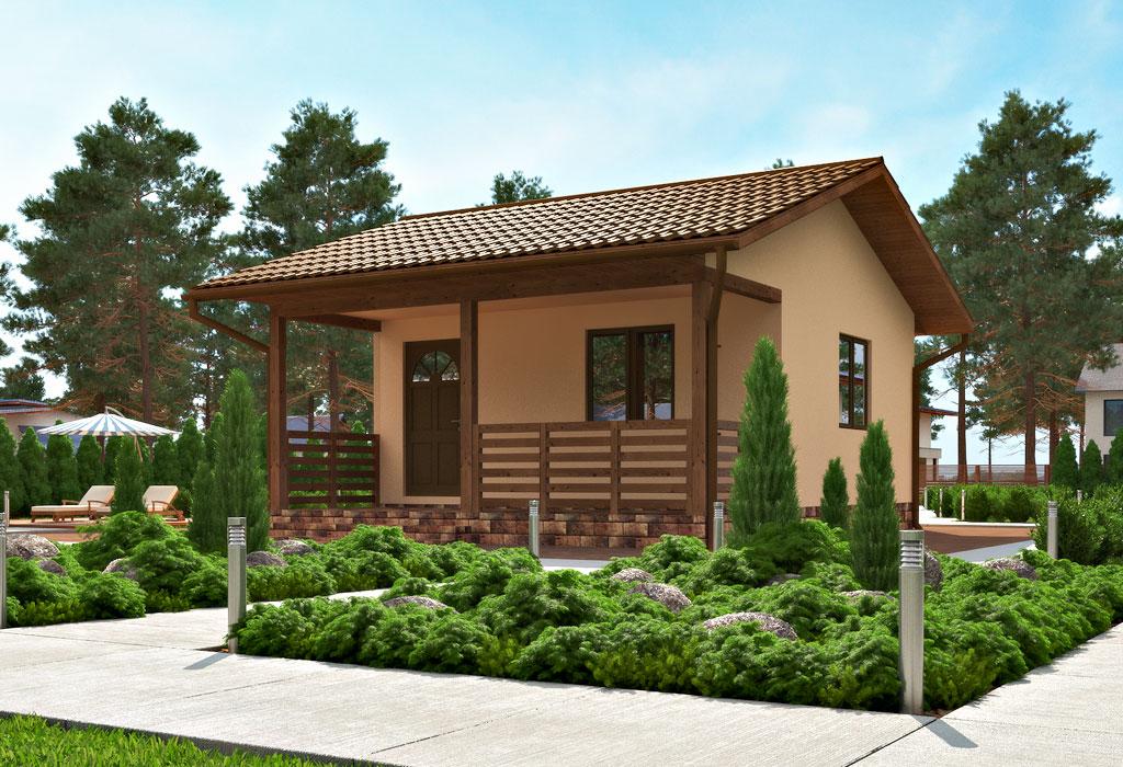проект дачного дома по канадской технологии