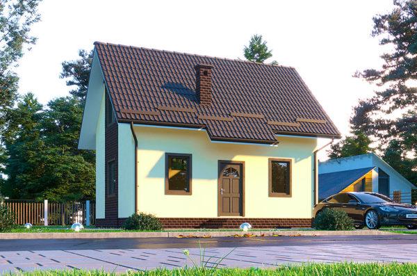 СИП дом проект Гектор 4