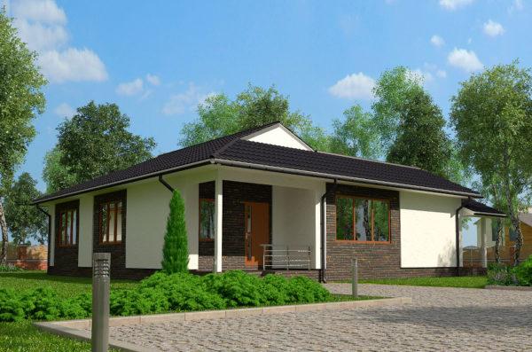 проект єнергосберегающего дома Милтон