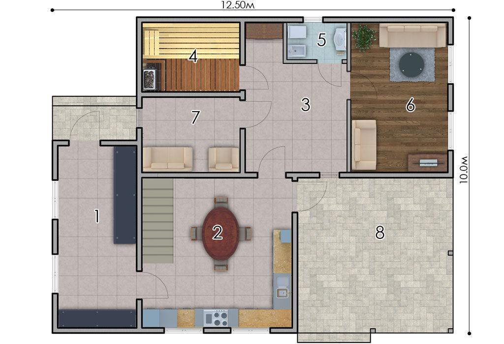 изображение первый_этаж Проект «Калгари»