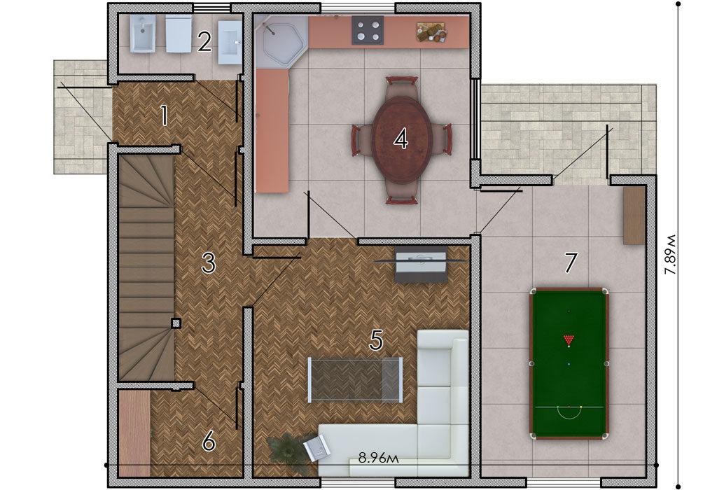 изображение первый_этаж Проект «Янина 9»