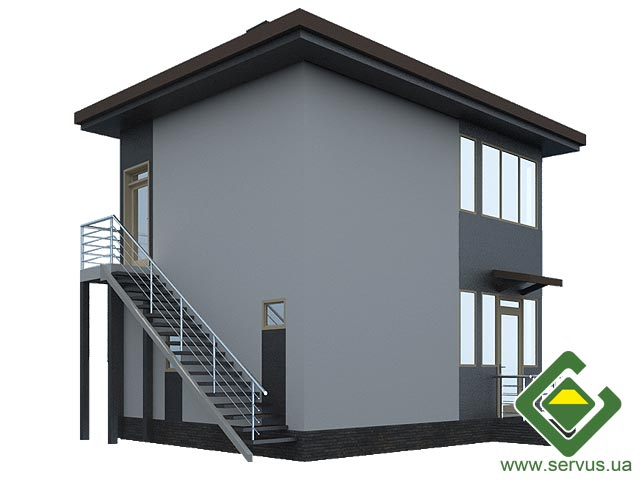 изображение фасады Проект «Богдан»