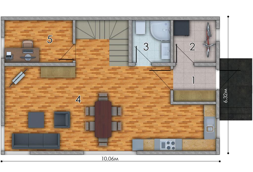 изображение первый_этаж Проект «Натали»