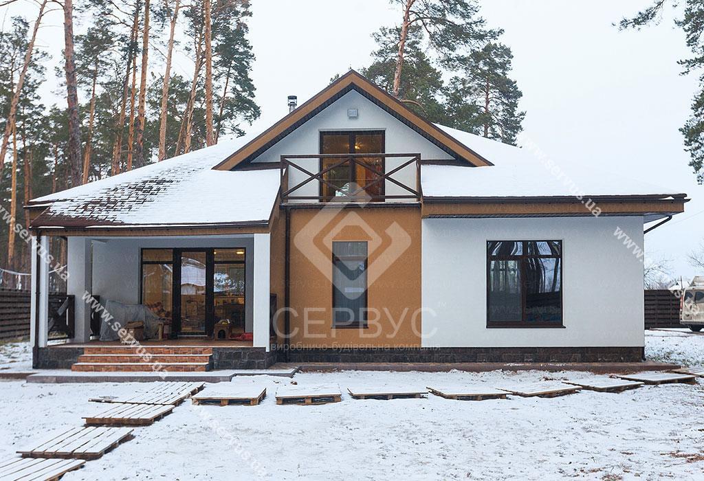 Дом Сервус по индивидуальному проекту